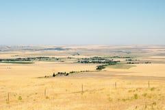 Grasland-Ackerland Stockfoto