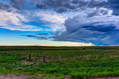 Graslandlandschaften lizenzfreie stockbilder