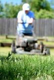 Grasmaaimachine Stock Foto