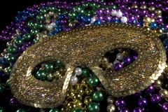 Grasmasker van Mardi Royalty-vrije Stock Afbeelding