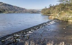 Grasmere,湖区, Cumbria,英国 图库摄影