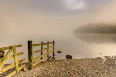Grasmere湖 库存照片