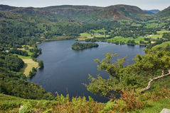 Grasmere. In the Lake District, Cumbria, UK Royalty Free Stock Images