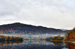 Grasmere in Autumn Stock Photography