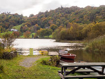 Grasmere boats Stock Images