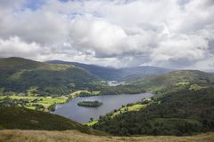 Grasmere, Cumbria Royalty Free Stock Images