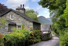 Grasmere, Cumbria. Grasmere village, the Lake District, Cumbria, England Royalty Free Stock Images