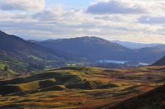Grasmere in the distance. Stock Image