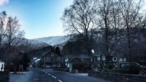 Grasmere-Dorf im Winter Lizenzfreie Stockfotografie