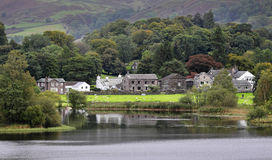 Grasmere in the English Lake District Royalty Free Stock Images