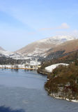 Grasmere and Helvellyn from Loughrigg Terrace, UK Stock Photos