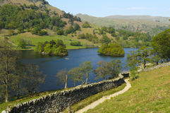Grasmere Lake. In Lake District National Park England Stock Photo