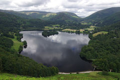 Grasmere in the Lake District England Royalty Free Stock Photo