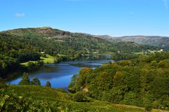 Grasmere lake in the lake district England Stock Images