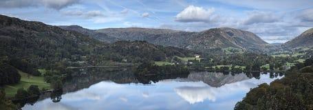 Grasmere panorama Royalty Free Stock Image