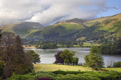 Grasmere. In Summer, the Lake District, Cumbria, England Royalty Free Stock Photo