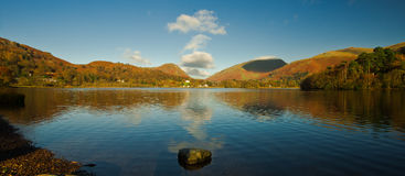 Grasmere Water. View over Grasmere water, Cumbria. Lake-District. England Stock Images