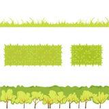 Grass_4的传染媒介例证 库存照片