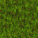 Grass. And Earth Seamless Texture Tile Stock Image