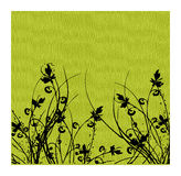 Grass. Work with s,illustration Stock Image