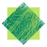 Grass abstract vector texture background. Grass vector texture for creation of banners and abstract organic backgrounds and patterns Royalty Free Stock Photos