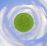 Grass&Clouds Imágenes de archivo libres de regalías