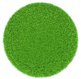 Grass arena isolated on white background Royalty Free Stock Images