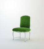 Grass armchair Royalty Free Stock Photos