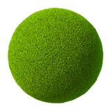 Grass Ball 3D Royalty Free Stock Images