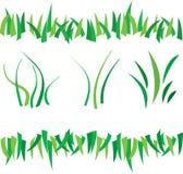 Grass border Stock Photos