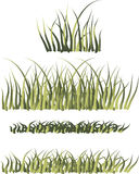 Grass borders Royalty Free Stock Photography