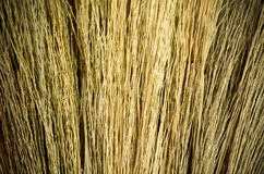 Grass broom Royalty Free Stock Photo