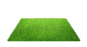 Grass Carpet Isolated On White Royalty Free Stock Images