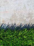 Grass and Concrete Background Stock Images