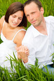 Grass couple Royalty Free Stock Photography
