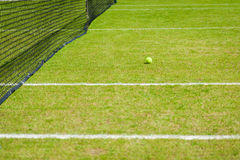 Grass court Stock Photo