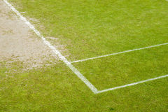 Grass court Royalty Free Stock Photo