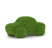 Grass covered car Royalty Free Stock Photos