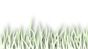 Grass cutout Royalty Free Stock Photography