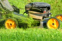 Grass - cutter Royalty Free Stock Photos