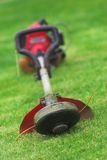 Grass cutting Royalty Free Stock Image