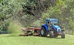 Grass cutting season Stock Photos