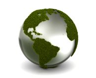 Grass Earth. (computer generated image Vector Illustration