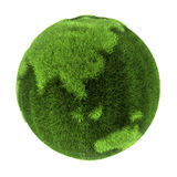 Grass Earth - Asia and Australia Stock Image