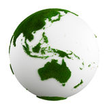 Grass earth - western central pacific Royalty Free Stock Photo