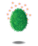 The Grass Egg Stock Image