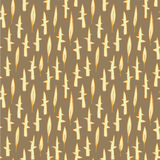 Grass Field Seamless Pattern Royalty Free Stock Image