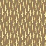 Grass Field Seamless Pattern Royalty Free Stock Image