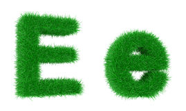 Grass font Stock Photo