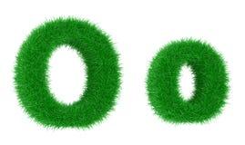 Grass font royalty free illustration